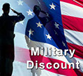 Military discount at Triple J RV Camp